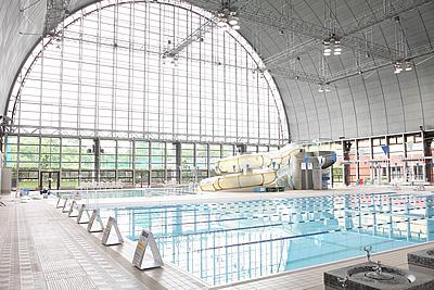都内のプール_東京スポーツ文化館
