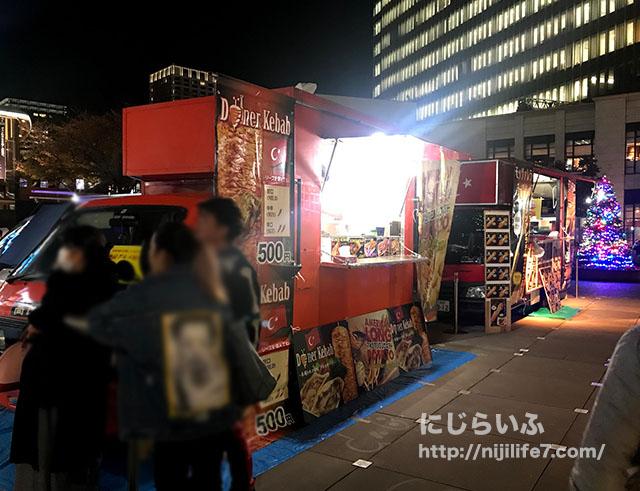 赤坂サカス・スケートの食べ物(屋台)